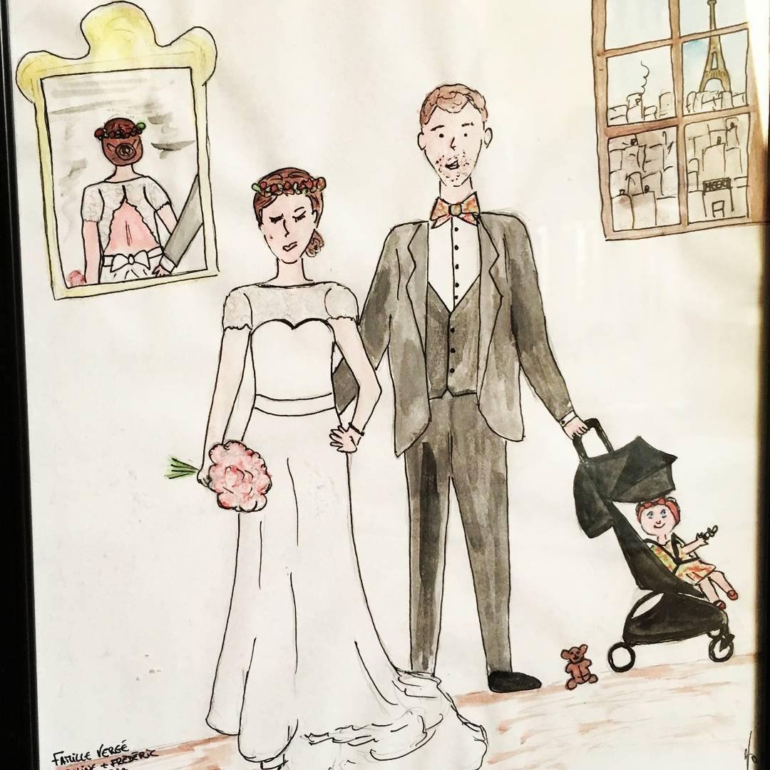 Portrait de famille Confettis jolis